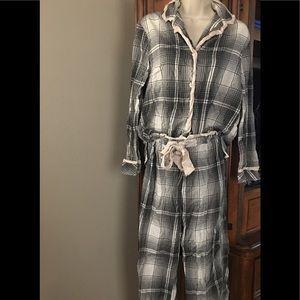 Victoria's Secret Flannel Pajama Set Size XS